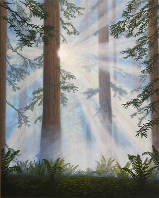Sun Painting - In Paradisum II by Mark Junge