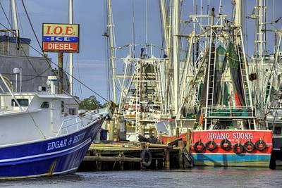 Photograph - In Port In Bayou La Batre by JC Findley