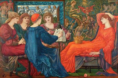 Venus Wall Art - Painting - In Praise Of Venus by Edward Burne-Jones