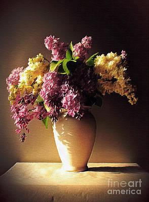 Painting - In Purple by Binka Kirova