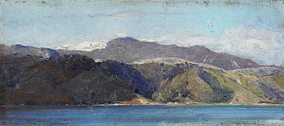 Painting - In Quarantine, Wellington by Tom Roberts