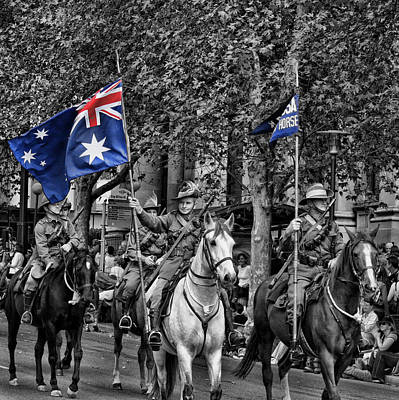 Anzac Photograph - In Remembrance by Douglas Barnard