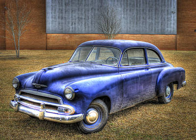 Photograph - In Retirement 1951 Chevrolet Coupe by Reid Callaway