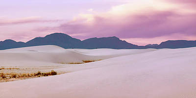 Photograph - In Rose - White Sands Morning - 3 by Nikolyn McDonald