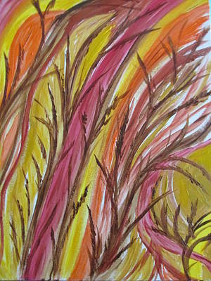 Painting - In Rushes Fall by Sharyn Winters