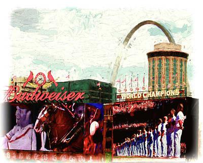 Digital Art - In Saint Louis by John Freidenberg