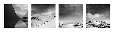 Photograph - in search of emptiness.  Norway 2 by Paul Davenport