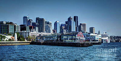 Photograph - In Seattle by Deborah Klubertanz