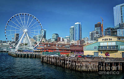 Photograph - In Seattle I by Deborah Klubertanz