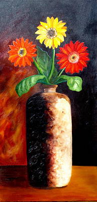 Painting - In Sharp Contrast.  Sold by Susan Dehlinger