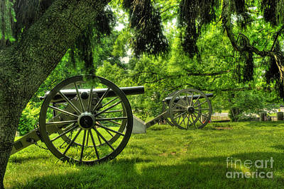 Photograph - In Soldiers Cemetery At Gettysburg by Paul W Faust - Impressions of Light