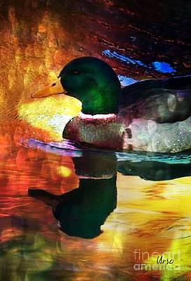 Digital Art - In Sunset Waters by Maria Urso