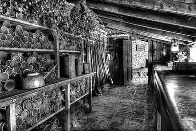Heligan Photograph - In The Potting Shed by Robert Murray