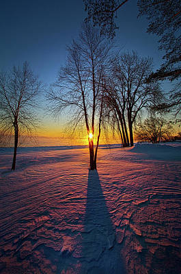 Print featuring the photograph In That Still Place by Phil Koch