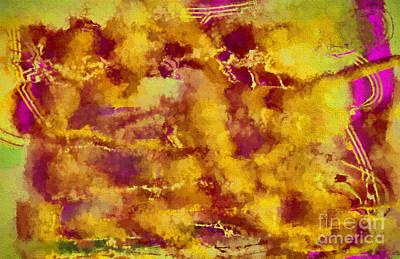 Modern Abstract Digital Art Digital Art Digital Art - In The Afterlife by Deborah Benoit