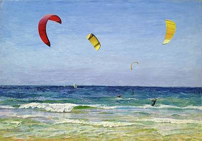 Wind Surfing Art Painting - In The  Wind by Gregory Doroshenko