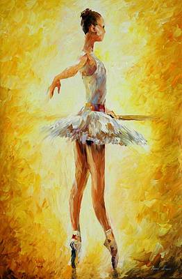In The Ballet Class Original by Leonid Afremov