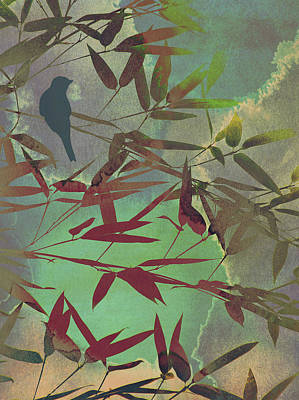 In The Bamboo Forest Art Print