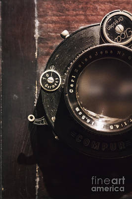 Aperture Photograph - In The Beginning by Margie Hurwich