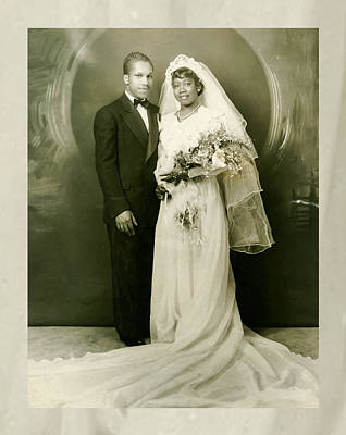 Photograph - In The Beginning We Said I Do by Terry Wallace