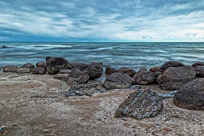 Niagara Beach Photograph - In The Blue Hour by Phill Doherty