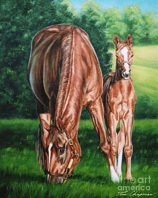 Kentucky Painting - In The Bluegrass by Tom Chapman