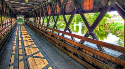 In The Bridge Art Print by Jackie Novak
