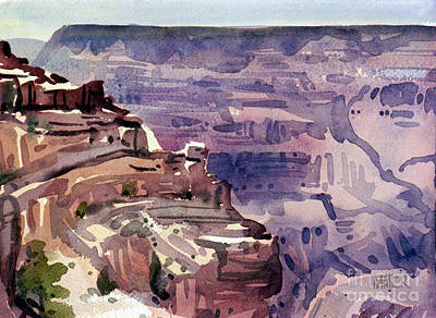 Painting - In The Canyon by Donald Maier