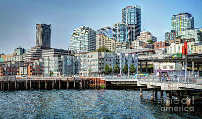 Photograph - In The City Of Seattle by Deborah Klubertanz