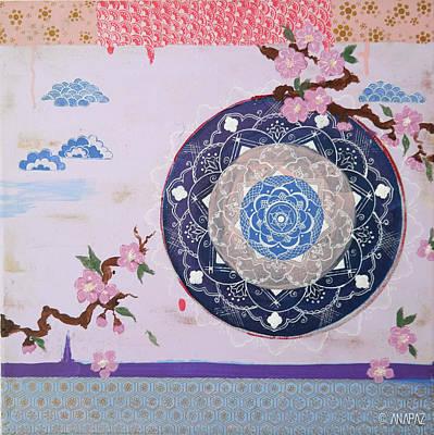 In The Clouds Original by Ana Maria Fociuc