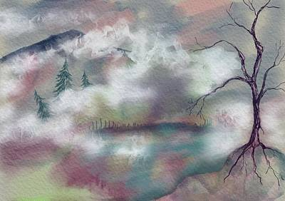Painting - In The Clouds by Annette Berglund
