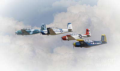 Photograph - In The Clouds by Jerry Cowart