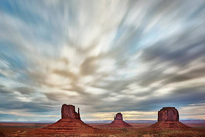 Navajo Nation Photograph - In The Clouds by Jon Glaser