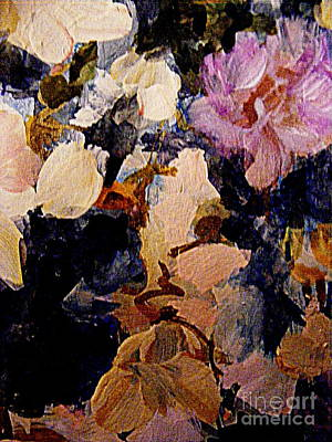 Painting - In The Company Of Flowers by Nancy Kane Chapman