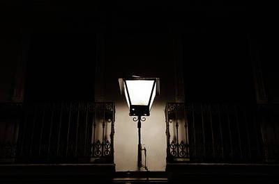 Streetlight Photograph - In The Dark Eternal Night by Andrea Mazzocchetti