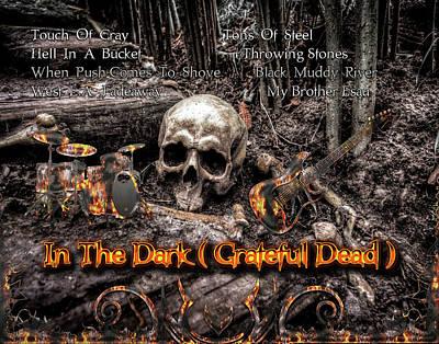 Digital Art - In The Dark by Michael Damiani