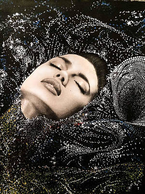 Subconscious Mixed Media - In The Deep by Sitora Yusufiy