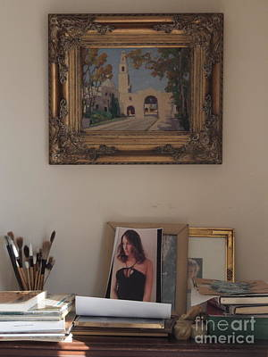 Photograph - In The Dining Room by Nancy Kane Chapman