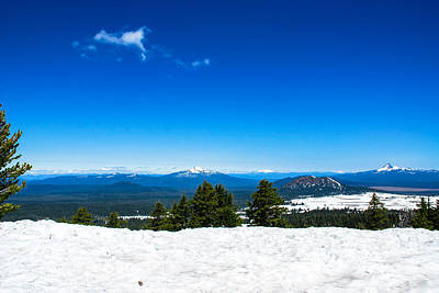 Photograph - In The Distance From Crater Lake 2 by Storm Smith