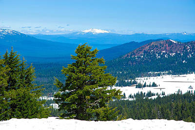 Photograph - In The Distance From Crater Lake by Storm Smith
