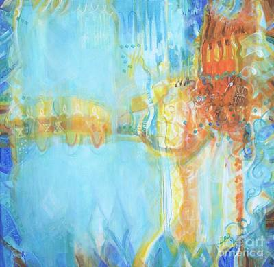 Wall Art - Painting - In The Dream by Marcela Levinska