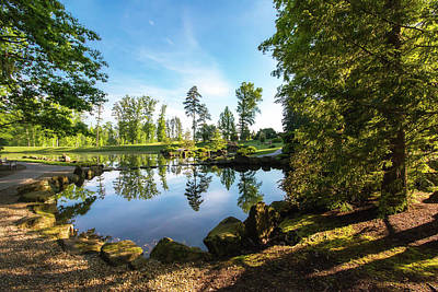 Tranquil Pond Photograph - In The Early Morning Light by Tom Mc Nemar