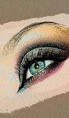 Paint Photograph - In The Eye by Ca Photography