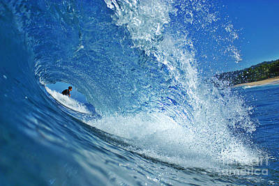 Surfers Photograph - In The Eye by Paul Topp
