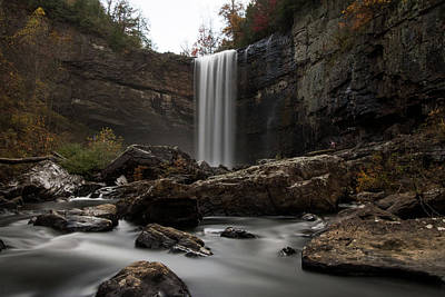 Photograph - In The Falls by Mike Dunn