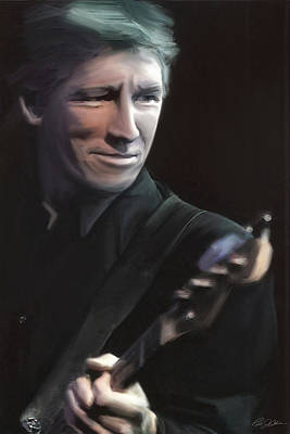 Pink Floyd Digital Art - In The Flesh Roger Waters by Peter Chilelli