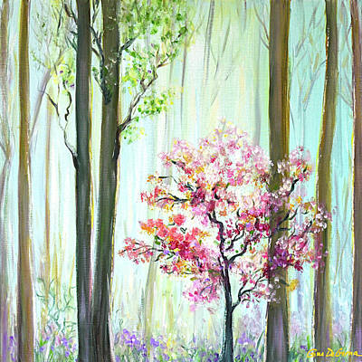 Painting - In The Forest by Gina De Gorna
