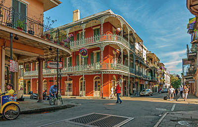 Grate Photograph - In The French Quarter - 3 by Steve Harrington