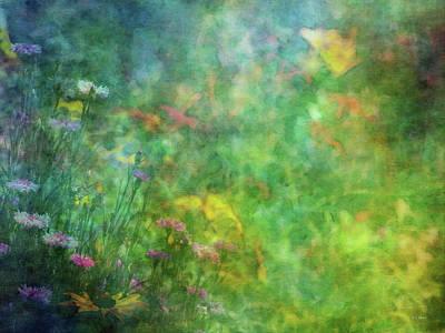 In The Garden 2296 Idp_2 Art Print