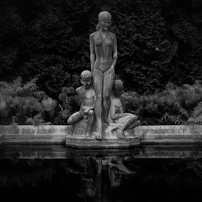 Photograph - In The Garden At Night by Gloria Lynn Henry